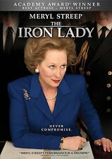 The Iron Lady (DVD, 2012) NEW