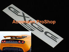 """2x 8.5"""" 21.6cm EXIGE S decal sticker Lotus 240 260 Sport Touring Super GT3 cup R"""