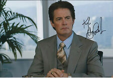 Kyle MACLACHLAN Signed Autograph Photo COA AFTAL Sex in the City Dr Brett Morton