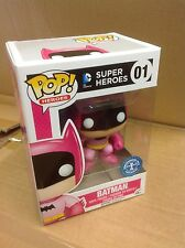 FUNKO POP! Batman Rainbow PINK 75th Anniversary #01 Vinyl Figure *Brand New*