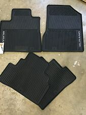 NEW OEM NISSAN MURANO 2015-2017 ALL WEATHER RUBBER FLOOR MAT SET (4 PC SET)