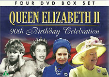 QUEEN ELIZABETH II 90TH BIRTHDAY CELEBRATION - 4 DVD BOX SET