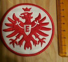 Eintracht Frankfurt Original Aufnäher mit 7,5 cm Durchmesser in Rot