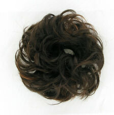 chouchou peruk cheveux chocolat méché cuivré ref: 17 en 6h30