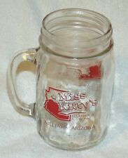 Good Route 66 Miss Kitty's Steakhouse and Saloon Williams AZ Country Jar Mug