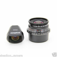 New Voigtlander COLOR-SKOPAR 21mm F4 Leica Screw LTM M39 Mount Viewfinder Black