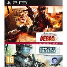 Ubisoft Double Pack Ghost Recon Advanced Warfighter 2 & Rainbow Six Vegas 2 PS3