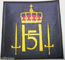 Norway Norwegian Armed Forces King's Guard Patch (FC)