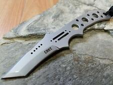 "CRKT Drumfire Fixed Neck Knife 5 3/4"" 8Cr13MoV Solid 1 PC Tanto Versatile 2031"