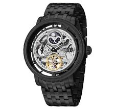 Men's Stührling Original SYMPHONY DT Automatic Skeleton Black Watch 411.335B1