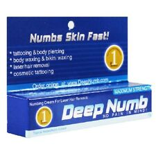 10g DEEP NUMB Numbing Cream Anesthetic Painless Tattoo Piercing Waxing Laser Dr