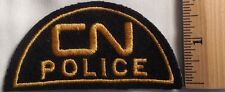 CN CANADIAN RAILWAY POLICE PATCH (FIRE, HIGHWAY PATROL, SHERIFF)
