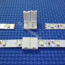 10x led-to-led Connector 2p clip for 8mm width single color 3528 led strip light