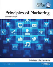 Principles of Marketing 16E by Gary Armstrong,Dr Philip Kotler (Paperback, 2015)