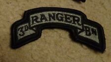 ARMY PATCH, 3RD RANGER BATTALION ,ACU, WITH VELCR