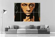 LIL WAYNE COLLAGE DESIGN wall Art Poster Grand format A0 Large Print