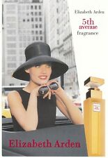 CARTE PARFUMEE 5TH AVENUE ELIZABETH ARDEN -  PERFUME CARD ADVISING