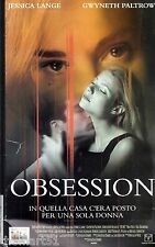 Obsession (1998) VHS Columbia   Video  -  Jessica LANGE Gwyneth PALTROW