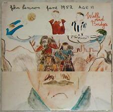JOHN LENNON ~ WALLS & BRIDGES ~ VINYL LP + LYRICS BOOKLET