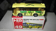 TOMY  TOMICA 1.130 SCALE AMUSEMENT PARK SHUTTLE BUS  GREAT LITTLE MODEL BUS
