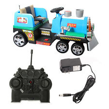 2.4G Kids Ride On Train Electric Remote Control Train w/Lights & MP3 & Stream