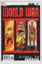 World War III 3 Set #1-4 2007 DC Black Adam Vs The DC Universe Justice Society
