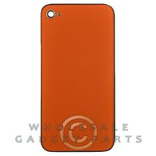 Door with Black Frame for Apple iPhone 4 CDMA Orange Rear Back Panel Housing