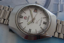 NICE & RARE VINTAGE RADO SILVER GAZELLE 74 AUTOMATIC 25 JEWELS SWISS MADE WATCH