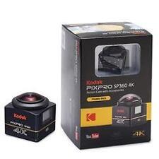 Kodak PIXPRO SP360 4K Action Cam 12MP Premier Pack Digital Camera New Agsbeagle