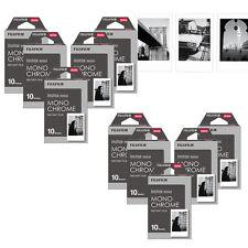 Fujifilm Instax Mini 100 Monochrome Mono Film Photo For Fuji 7s 8 90 70 Camera
