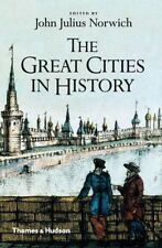 The Great Cities in History, John Julius Norwich, Good, Paperback