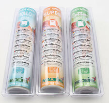 Madeira Machine Embroidery Stabilizer Trio Sampler Combo Tear Cut and Wash Away