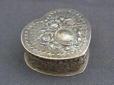 alte Silberdose , Pillendose , Schnupftabak 835/-Silber ca.um 1920
