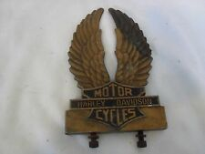 HARLEY GENUINE EAGLE WINGS MEDALLION SISSY BAR BACKREST SHOVELHEAD AMF