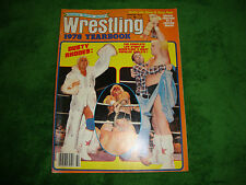 SPORTS REVIEW WRESTLING WINTER 1978  dusty rhodes/terry funk/andre the giant