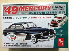 AMT 1949 Mercury Club Coupe Plastic Model Car Kit 1/25 Scale AMT654