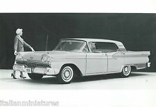 FORD FAIRLANE Tudor hardtop 1959 original press photo noir blanc