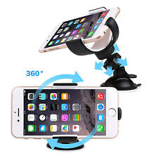 SAVFY 360 Car Holder Windshield Mount Bracket Stand For iPhone 6/6S Plus 5/5S/5C
