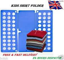 Kids Magic Clothes Folder T Shirts Jumbers Organiser Fold Laundry Suitcase New