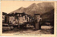 CPA SOSPEL .- Le vieux pont sur la bevera  (192182)