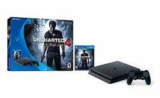 PlayStation 4 Slim 500GB Console - Uncharted 4 Bundle System Brand NEW Sealed