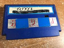 Dig Dug II Famicoder Copy Cart Nintendo Famicom FC/NES Japan Import Weird Rare
