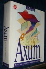 Vintage MATHSOFT AXUM 4 Box Set Full Version Statistics Graphing Software Floppy