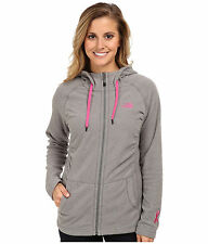 New Womens North Face Fleece Mezzaluna Hoodie Jacket Small