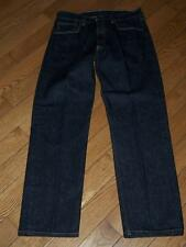 "MEN'S LEVI'S 501 BUTTON FLY DENIM JEANS W 33"" L 31""  BLACK"