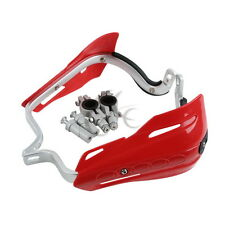 New Plastic Hand Brush Guards For Honda CR125R CRF230F CRF250X CRF450R Bar Red