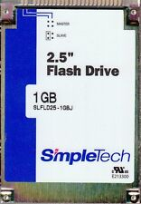 "SIMPLETECH STEC SLFLD25-1GBJ PANTHER 1GB 2.5"" IDE PATA FLASH DRIVE SSD - NEW!"