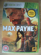 Max Payne 3 For Xbox 360 Brand New And Sealed