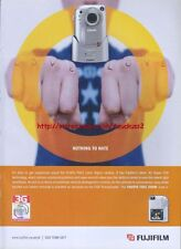 Fujifilm Finepix F601 Camera 2002 Magazine Advert #1372