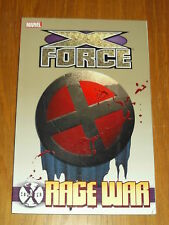 COUNTER X X-FORCE RAGE WAR MARVEL DOMINO GRAPHIC NOVEL  9780785159735